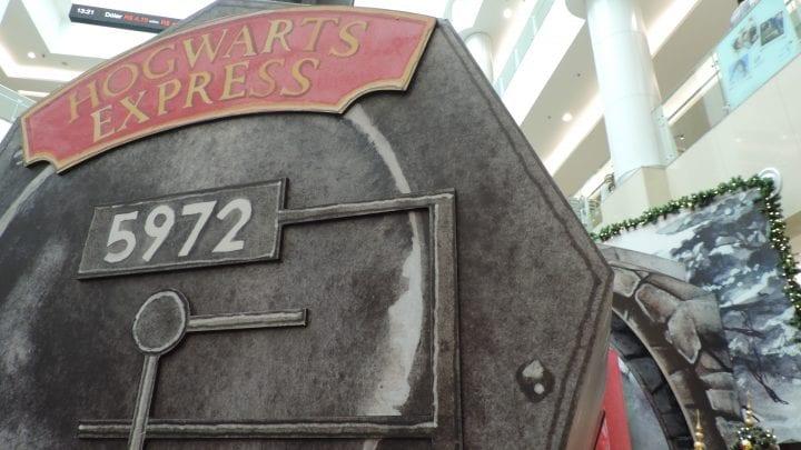 Harry Potter é inspiração para decoração de Natal no complexo Shoppings no Tatuapé