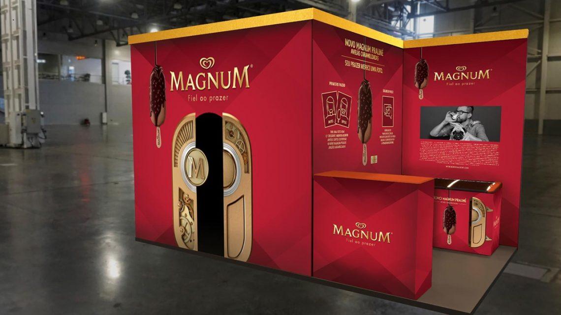 Magnum promove exposição fotográfica no Metrô para captar o prazer ao degustar lançamento da marca
