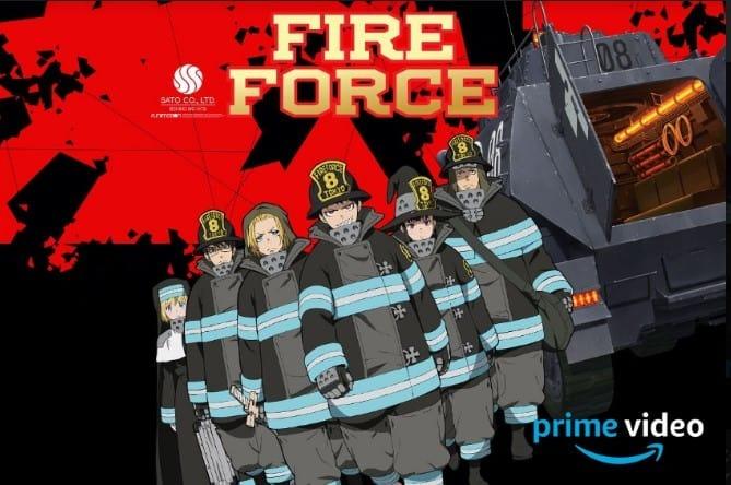 Fire Force – Primeira temporada do anime é disponibilizada por completo no Prime Video da Amazon