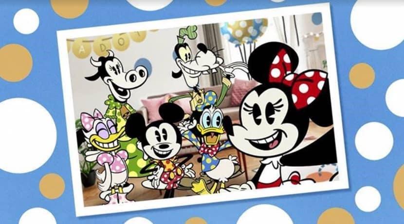 Hoje é o dia do #polkadot e o Disney Channel celebrará com a estreia de um curta da Minnie Mouse