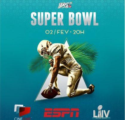 Super Bowl Liv será exibido ao vivo pela Cinépolis em 24 complexos da rede