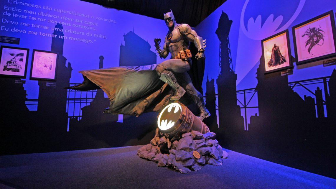 Sucesso de público, a inédita Batman80 – A Exposição chegou ao fim com mais de 123 mil visitantes e anuncia ida ao Iguatemi Campinas