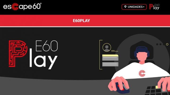 Escape 60 lança diversão on-line para oferecer entretenimento em tempos de isolamento social
