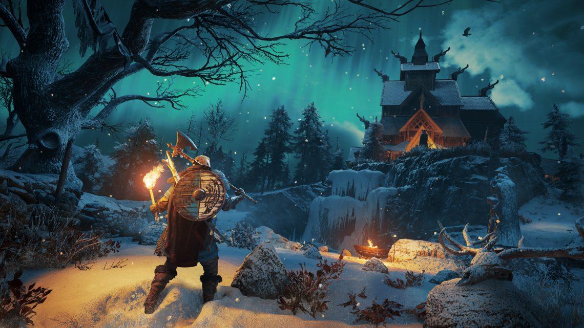 Jogadores viverão um lendário e destemido viking em Assassin's Creed Valhalla