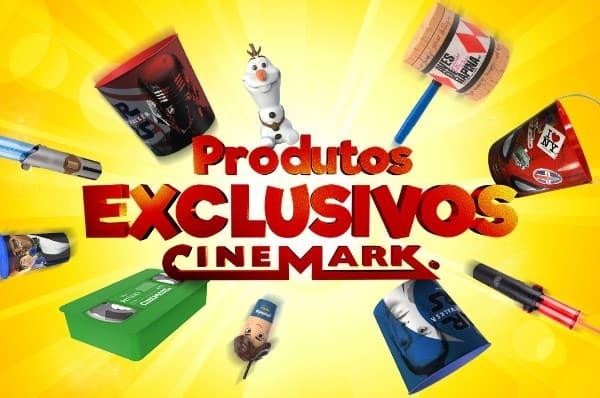 Itens colecionáveis exclusivos da Cinemark agora na casa dos espectadores