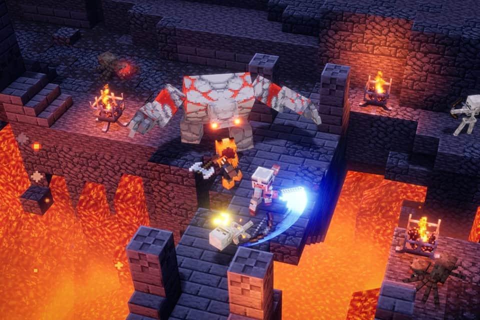 Minecraft Dungeons já está disponível