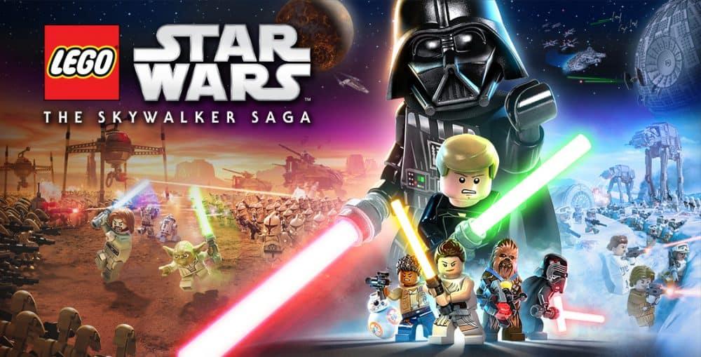 Arte principal de LEGO Star Wars: A Saga Skywalker