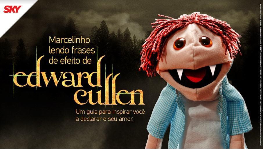 SKY convida Marcelinho, o fantoche do Youtube, para ação de Dia dos Namorados