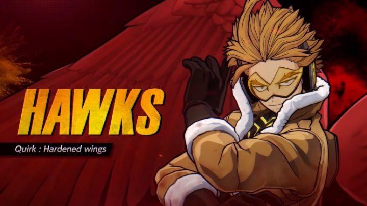 My Hero One's Justice 2 adiciona patch de dublagem em inglês, o DLC do herói Alado: Hawks e mais