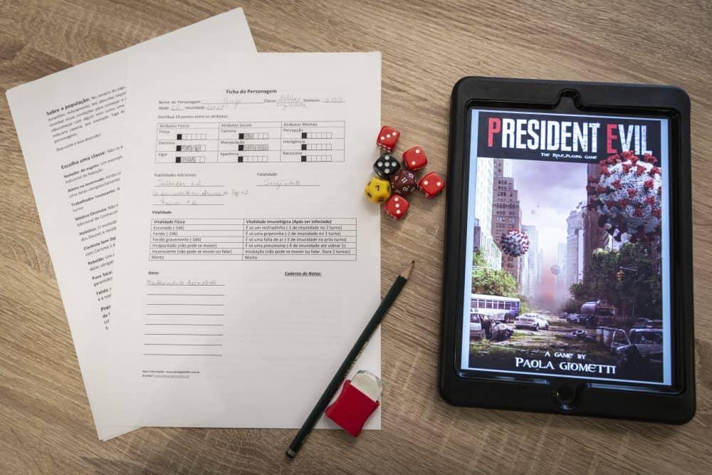 President Evil é o novo jogo de RPG gratuito sobre Coronavirus