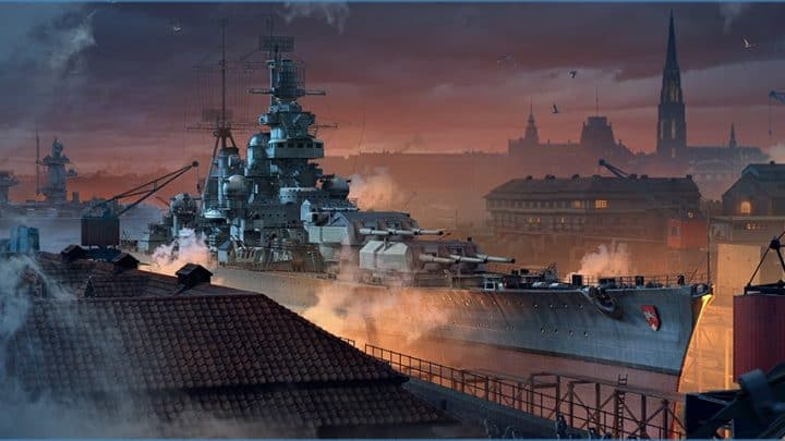 Novo Estaleiro de Hamburgo está pronto para construções em World of Warships