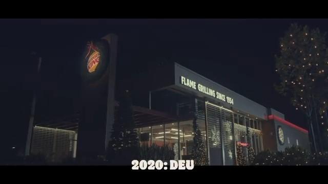 Hoje é Natal no Burger King | campanha antecipa festa para finalizar 2020