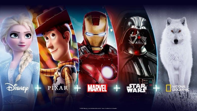 Disney + no Brasil em Novembro, saiba o que vêm no pacote