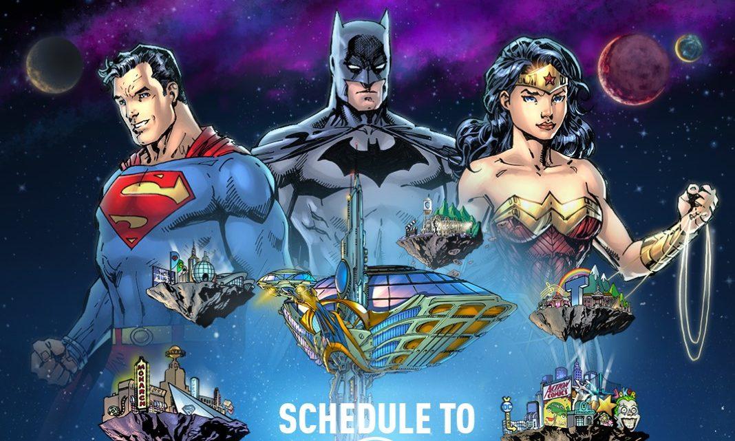 DC Fandome agora em dois dias