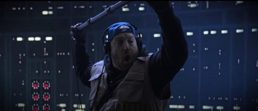 """O """"técnico de som"""" Kevin James participa de cenas icônicas do cinema"""