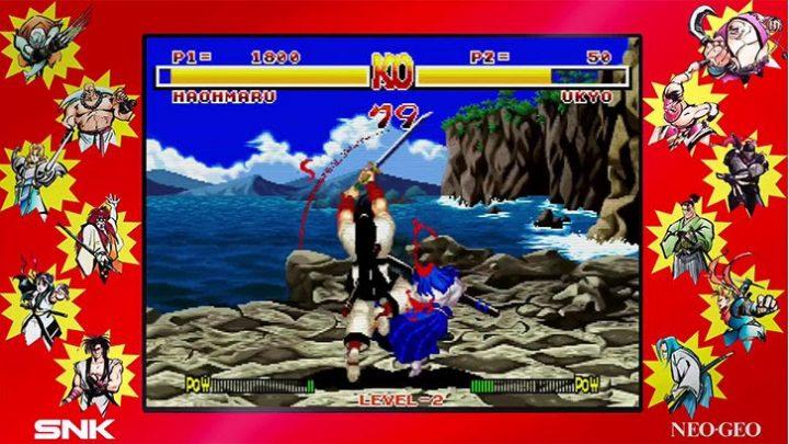 SAMURAI SHODOWN NEOGEO COLLECTION chega em mídia física ao PS4 nesta sexta (7)