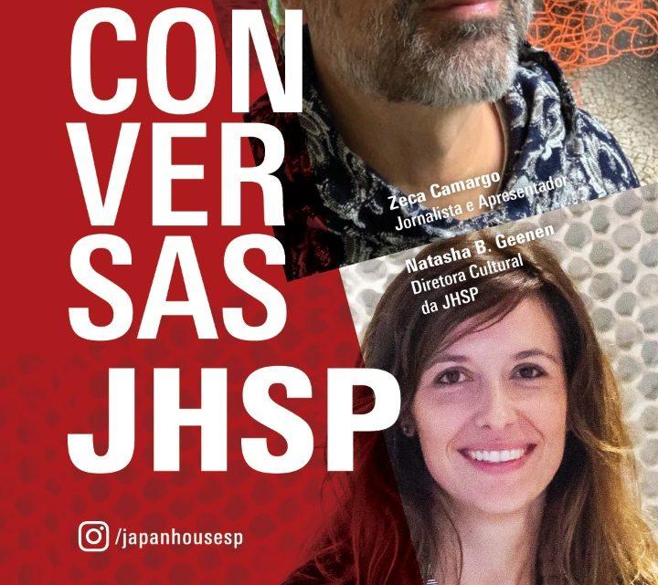 Zeca Camargo é o convidado da Japan House São Paulo na 3ª edição do Conversas JHSP