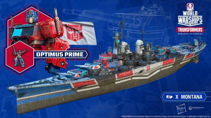Transformers se juntam às batalhas de World of Warships