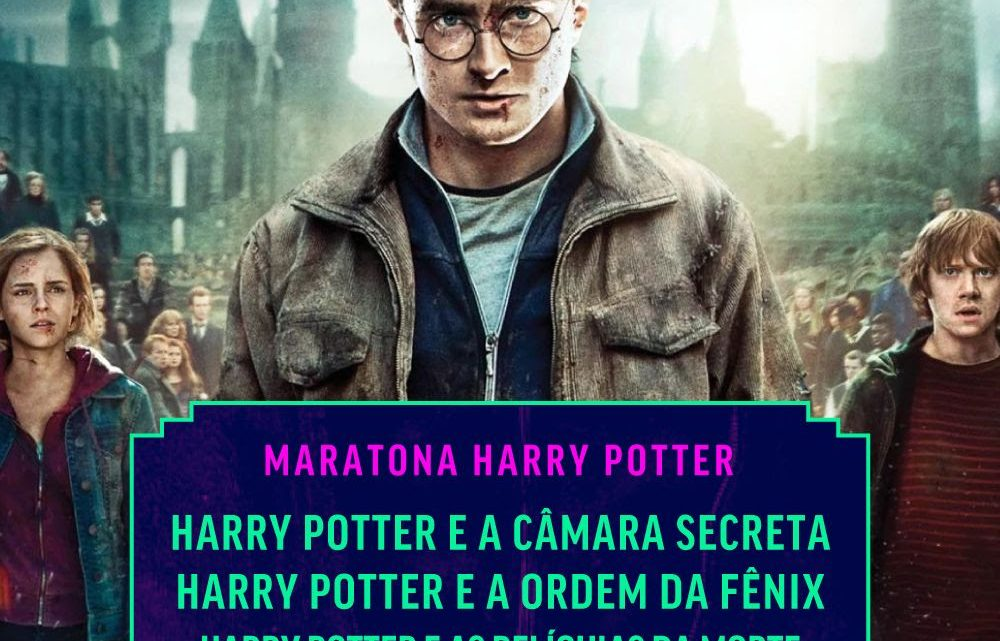 Warner 25 anos: Comemorações começam neste domingo (6) com maratona de Harry Potter