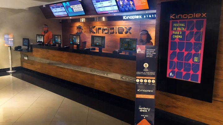 Kinoplex retoma atividades em São Paulo nesta quinta-feira