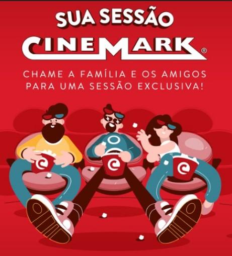 'Sua Sessão Cinemark' oferece sessões privadas de cinema
