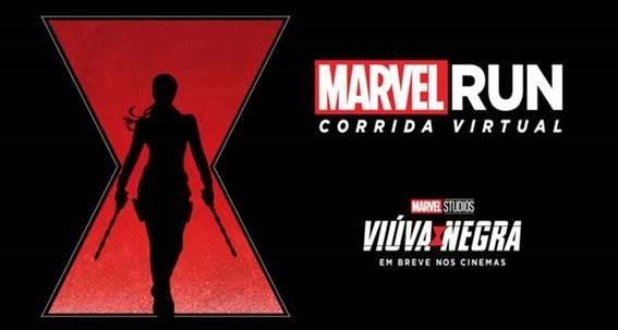 [MARVEL RUN 2020] Edição Viúva Negra será uma corrida virtual, sabia mais