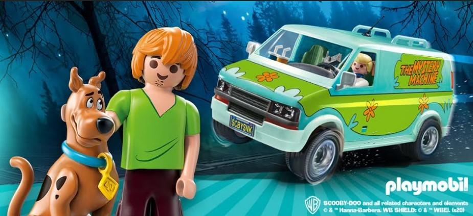 Sessão nostalgia: 'De Volta Para o Futuro', 'Scooby-Doo' e 'Caça-Fantasmas' são os novos itens da Playmobil no Brasil
