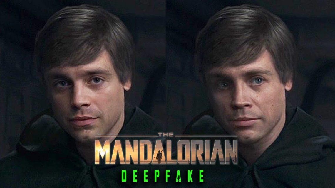 Deepfake | Sebastian Stan é Luke Skywalker em The Mandalorian