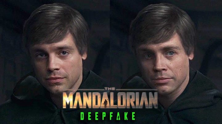 Deepfake | Sebastian Stan é Luke Skywalker em The Mandalorian