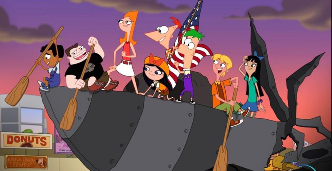 Disney   Especial Phineas e Ferb – Janeiro-Inator