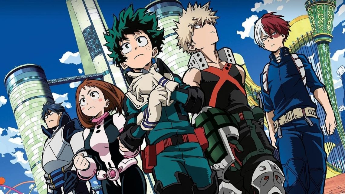 My Hero Academia chega na Loading