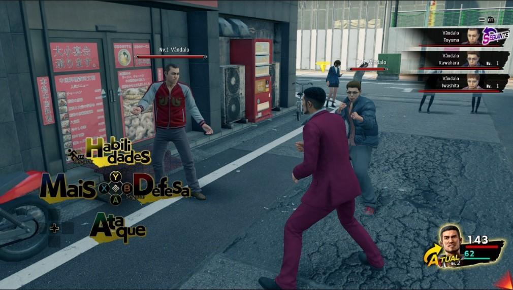 É do Brasil! Yakuza: Like a Dragon recebe localização para o português em atualização gratuita