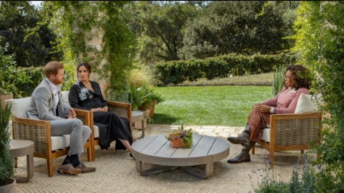 "Globo adquire o especial ""Oprah Entrevista Meghan ﹠ Harry"""