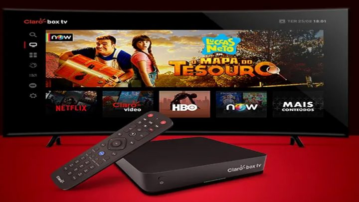 Claro box tv disponibiliza acesso ao aplicativo Amazon Prime Video