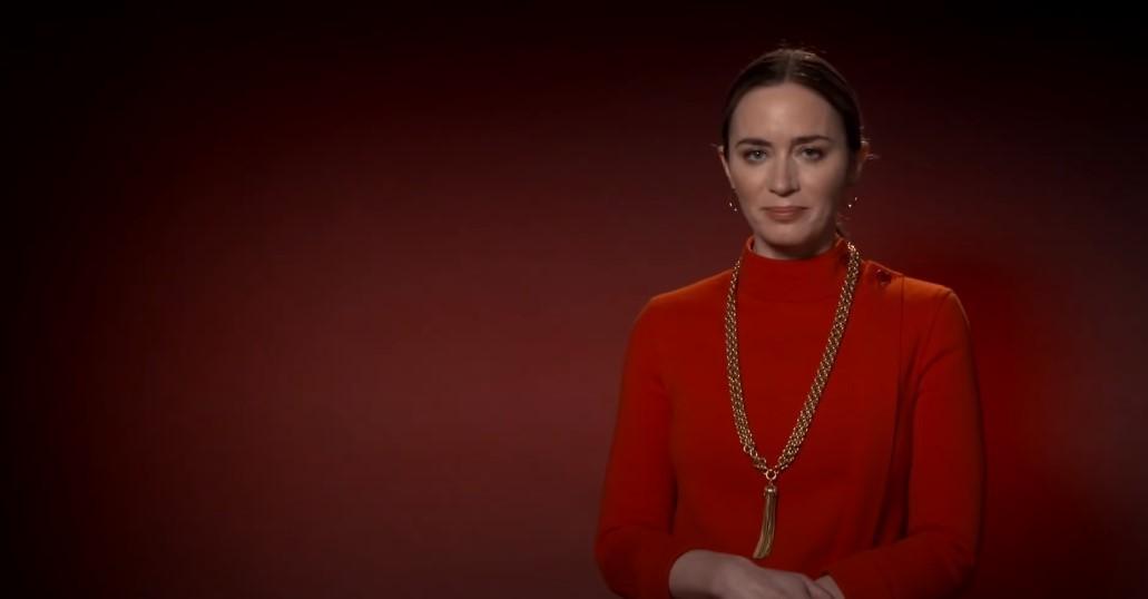 """Ingresso.com disponibiliza cena exclusiva de """"Um Lugar Silencioso 2"""" com direito a recado especial de Emily Blunt para os fãs brasileiros"""