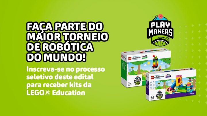 Tecnologia Educacional abre inscrições para a nova temporada do projeto social FIRST® LEGO® League